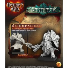 Lord of Pestilence with weapon & shield