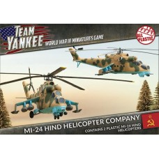 Mi-24 Hind Helicopter Company (x2) (Plastic)