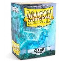 Dragon Shield Sleeves Clear Matte(100)