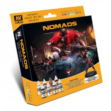 Model Color Set: Infinity Nomads + Exclusive Miniature