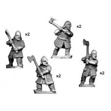 Hirdmen with 2 Handed Axes (8)
