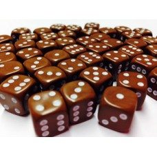 Brown Dice Set