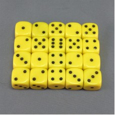 Yellow Dice Set