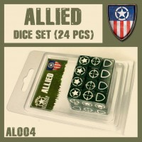 DUST 1947 Allies Dice Set