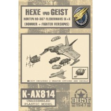 Hexe/Horten Ho-347 Fledermaus - Model Kit