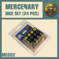 DUST 1947 Mercenary Dice Set