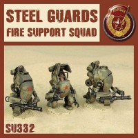 SSU Steel Guards Fire Support Squad