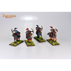 Mongol Heavy Cavalry Archers (4 mounted resin figures)