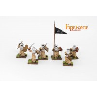Arab Sudanese Command (6 infantry resin figures)
