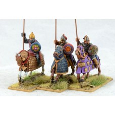 Sassanid Cataphract, Upright Kontos