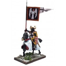 Mounted Ordensstaat / Teutonic War Banner Bearer