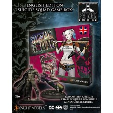 Suicide Squad Game Box (English) + Ben Affleck + Harley Bombshell