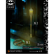 Sewers and Lamp post set 2