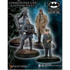 Commissioner Loeb and the Gotham Police