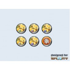"Infinity Tokens TOCamo ""Yellow"" (6)"