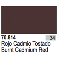 Burnt Cadmium Red