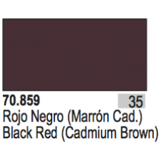 Black Red (Cadmium Brown)