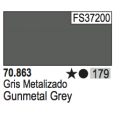 Metallic Gunmetal Grey