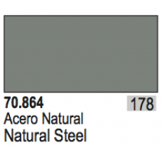 Metallic Natural Steel