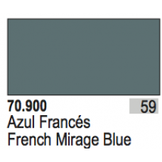 French Mirage Blue