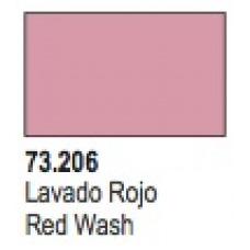 Red Shade Wash