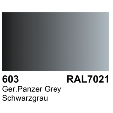 Vallejo Polyurethane - Primer German Panzer Grey (RAL 7021) 17ml