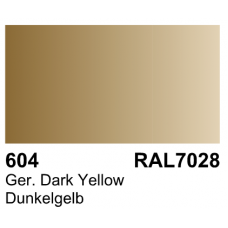 Vallejo Polyurethane - Primer German Dark Yellow (RAL 7028) 17ml