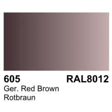 Vallejo Polyurethane - Primer German Red Brown  (RAL 8012) 17ml
