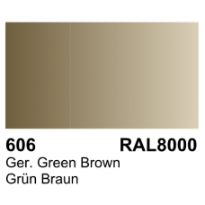 Vallejo Polyurethane - Primer German Green Brown (RAL 8000) 17ml