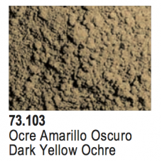 Vallejo Pigments - Dark Yellow Ocre