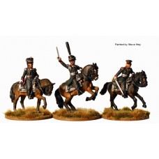 Russian Mounted Field Officers