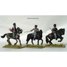 Prussian Mounted field officers