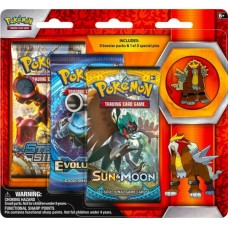 Pokémon TCG: Collector's Pin 3-Pack Blister Entei