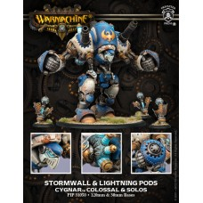 Cygnar Colossal Stormwall & Lightning Pods