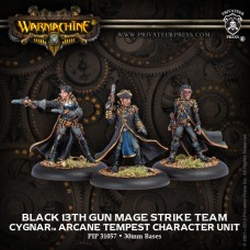 Cygnar Black 13th Gun Mage Strike Team