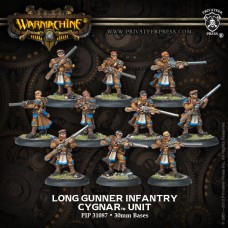 Cygnar Long Gunner Infantry
