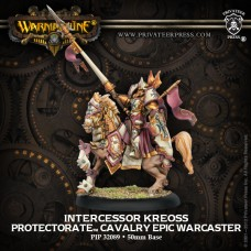 Protectorate Cavalry Epic Warcaster Intercessor Kreoss