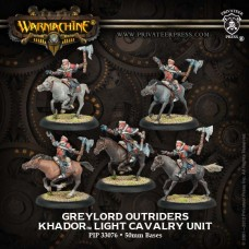 Khador Greylord Cavalry Outriders