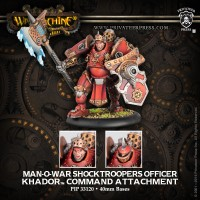 Khador Man-O-War Shocktrooper Officer
