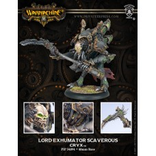 Cryx Warcaster Lord Exhumator Scaverous