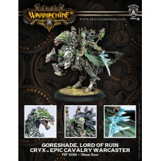 Cryx Epic Cavalry Warcaster Goreshade Lord of Ruin