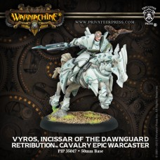 Retribution Epic Warcaster Cavalry Vyros Incissar of Dawnguard