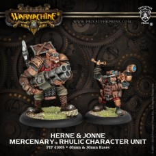 Mercenary Herne Stoneground & Aquebus Jonne