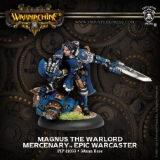 Mercenary Magnus the Warlord