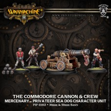 Mercenary Commodore Cannon & Crew