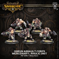 Mercenary Ogrun Assault Corps