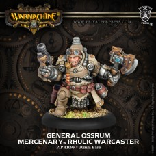 Mercenary Warcaster General Ossrum