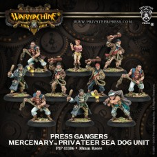 Mercenary Press Gangers Sea Dog Unit