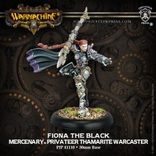 Mercenary Thamarite Warcaster Fiona the Black