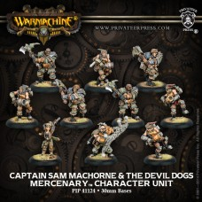 Mercenary Captain Sam MacHorne & Devil Dogs